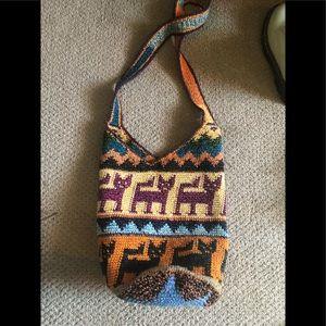 Peruvian cat purse